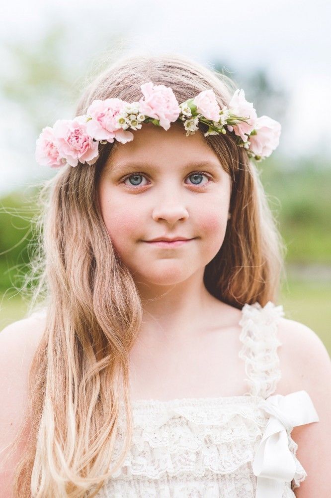 boho chic flower crowns