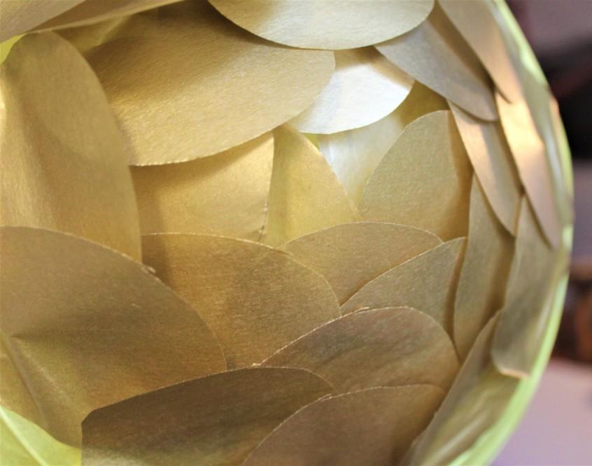 tissue paper lantern
