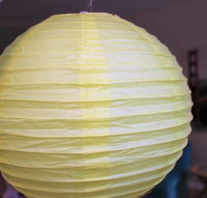 tissue paper lantern tutorial