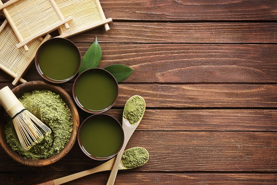 Macha tea reduces hypertension