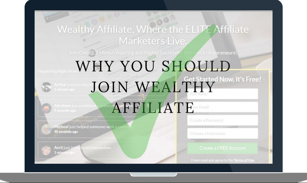 why you should join wealthy affiliate