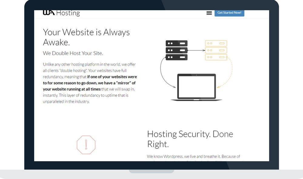 fast and reliable website hosting service