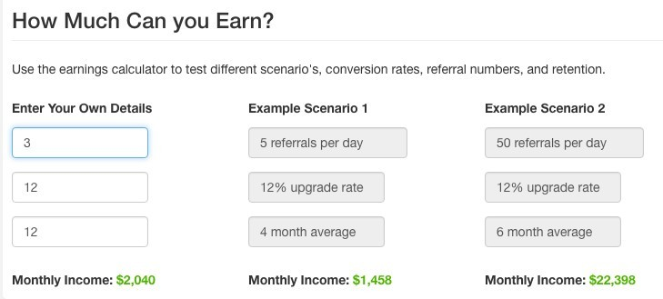 Wealthy Affiliate. How much can you earn?