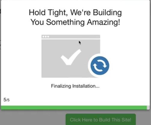 Make a website in a free WordPress Website Builder