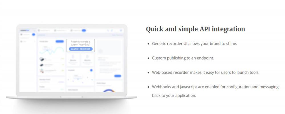 Free Online Screen Recorder Screencast-o-matic API