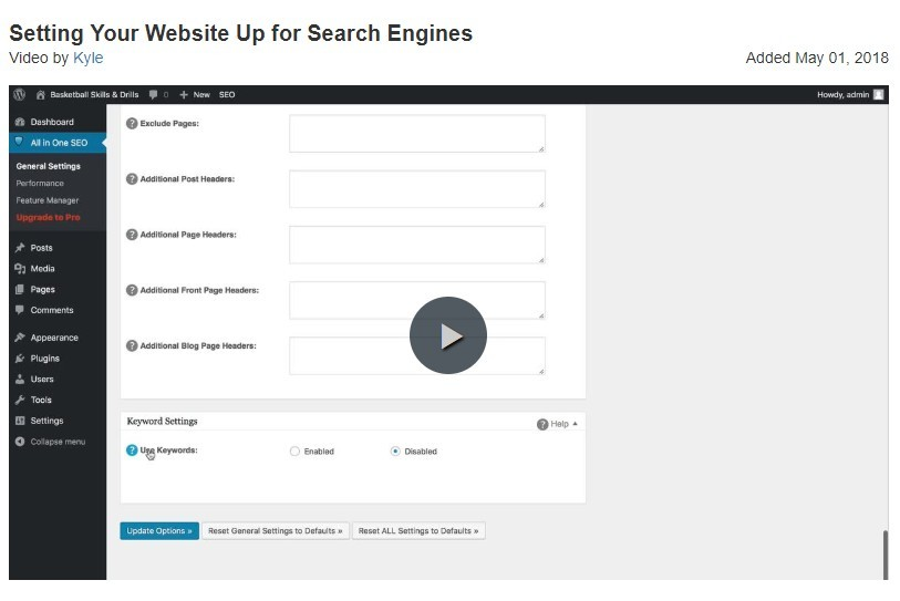 getting your website ready for seo