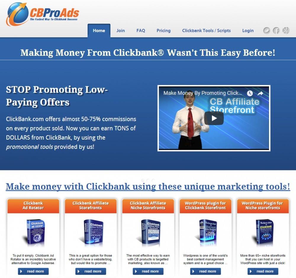 ClickBank Pro Ads