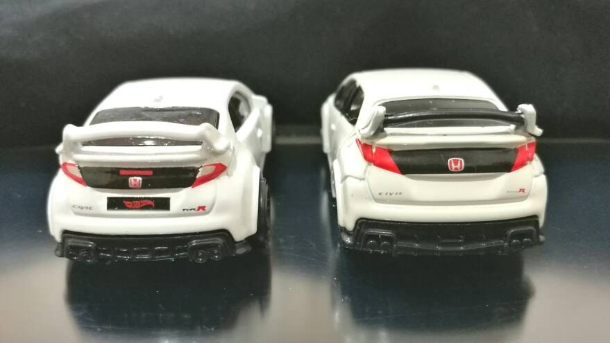 Hot Wheels and Tomica 2016 Honda Civic Type R FK2   The Toy ...