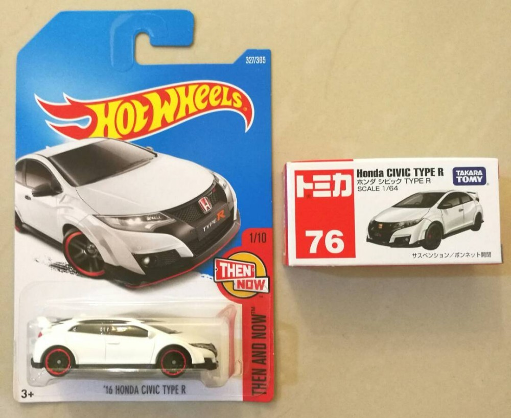 Hot Wheels And Tomica 2016 Honda Civic Type R Fk2 The Toy