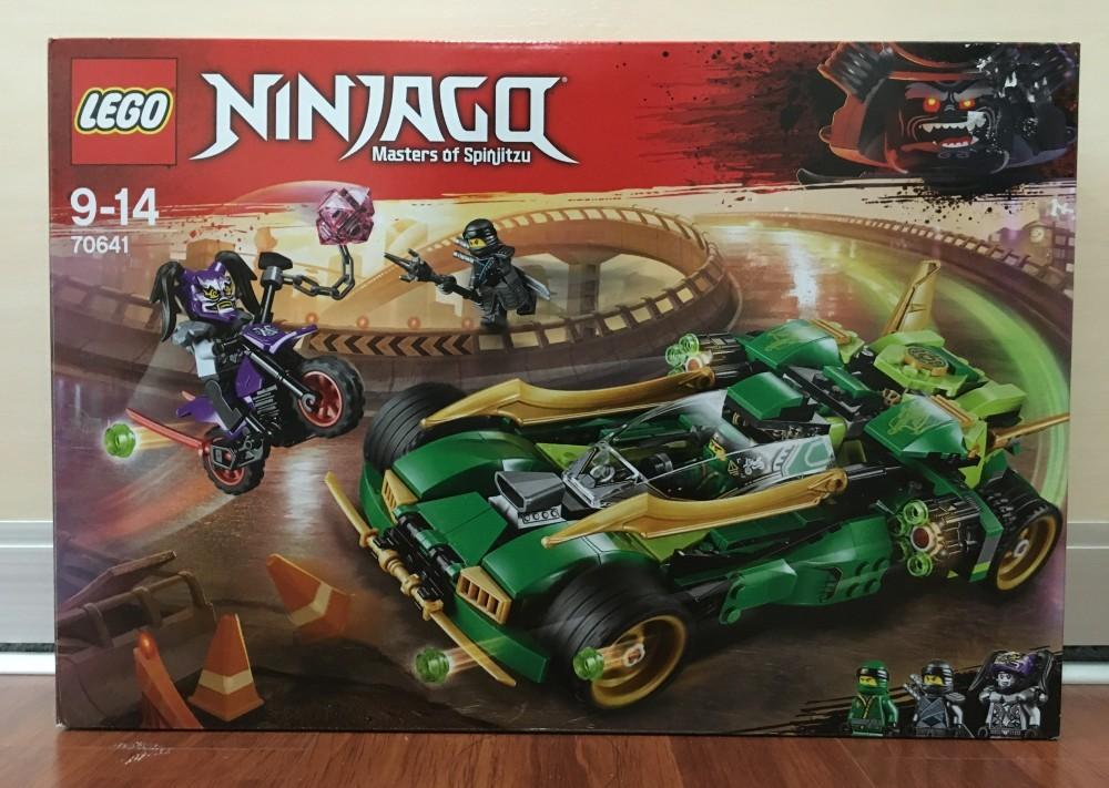 Lego Ninjago 2018 Sets Lego Ninjago Ninja Nightcrawler 70641