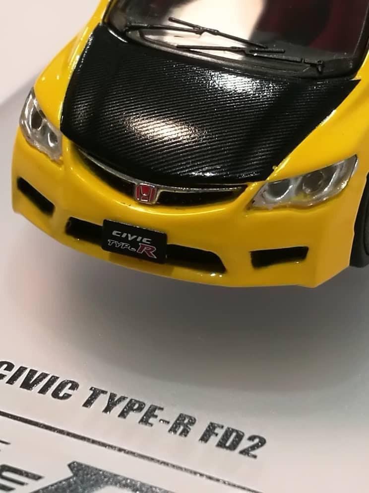 INNO64 AEON 31st Anniversary Hong Kong 1//64 Honda Civic Type R FD2 Limited 1:64