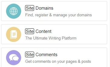 Site Content on Wealthy Affiliate Platform