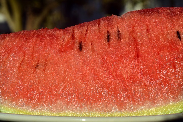 Castor oil and water melon