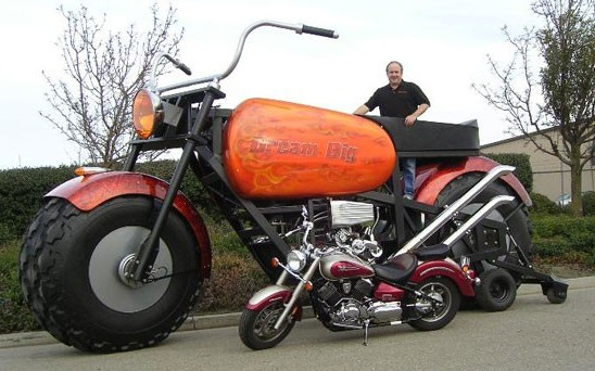 Dream Big Motorcycle