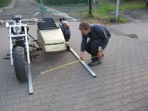 Sidecar Toe-in Adjustment
