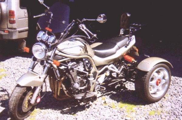 Sidecar Trike reverse Gear