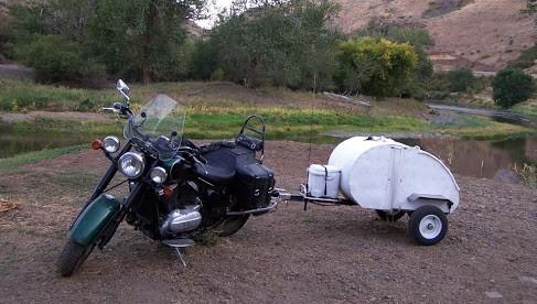 Spud Motorcycle Camper
