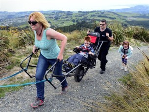 Wheelchair Bushwalking