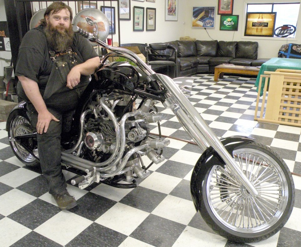 Black Jack Radial Engine Motorcycle