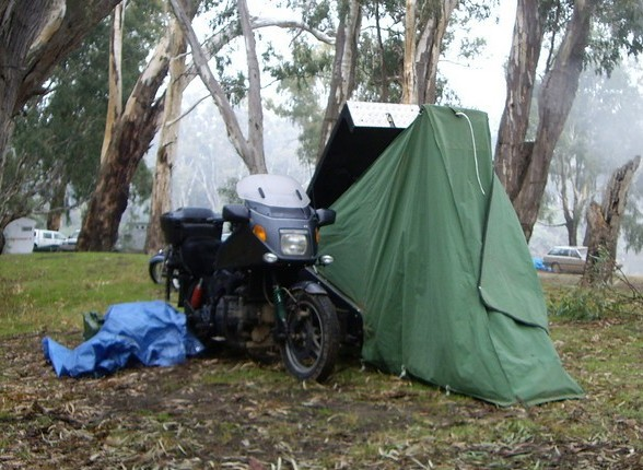 Motorcycle Sidecar Tent