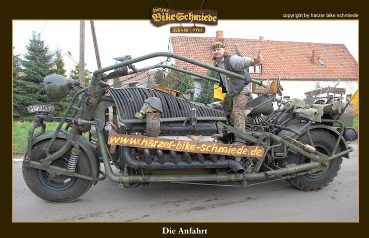 Penderbike Massive Trike