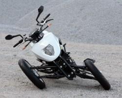 Leaner Reverse Trike