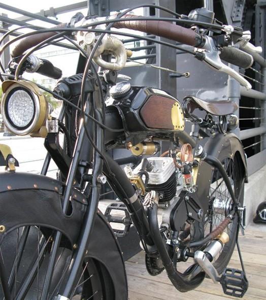 Paradox Steampunk Motorcycle