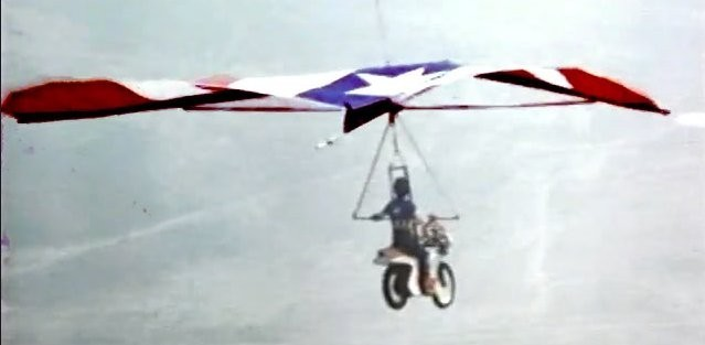 Flying Motorcycle Hang Glider