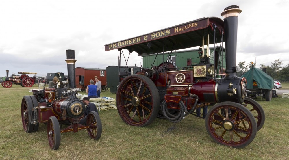 Burrell Gold Medal Steam Tractor