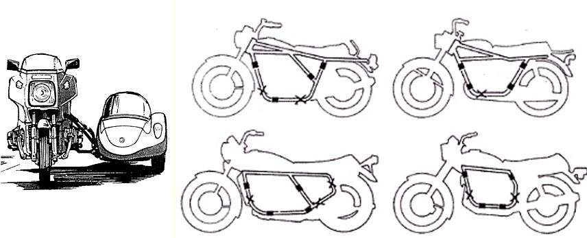 Sidecar Attachment Points