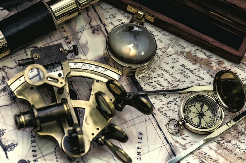 Steampunk Sextant
