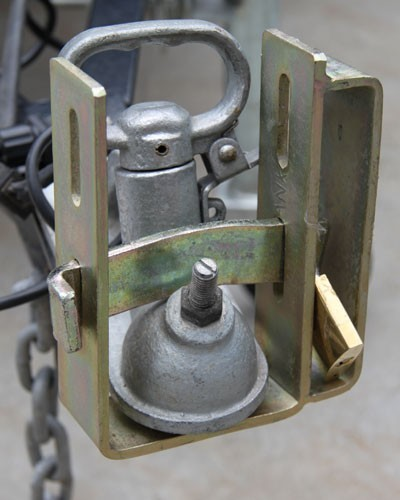 Motorcycle Tow Hitch Lock