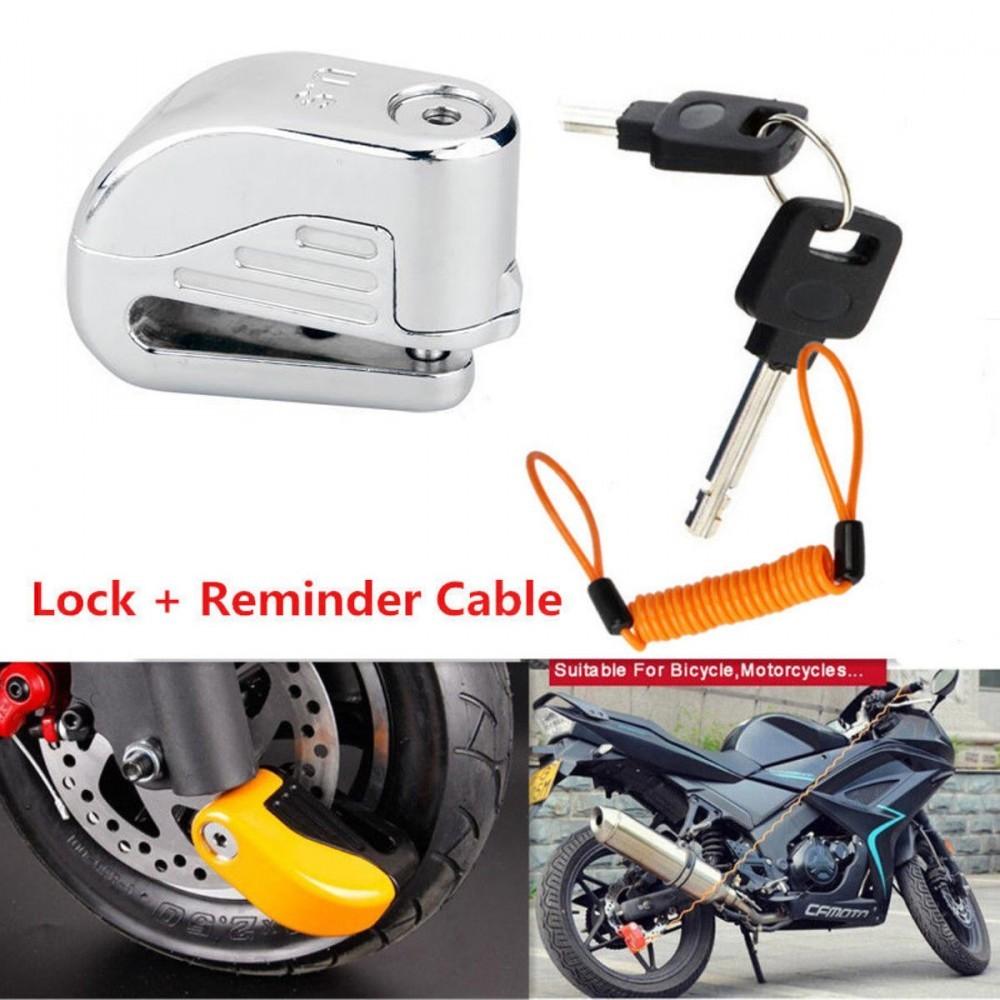 Motorcycle Wheel Lock Alarm