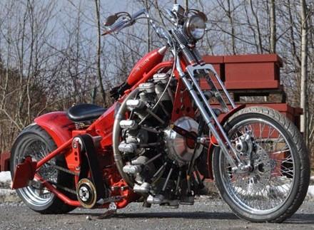 Crossway Radial Engine Motorcycle