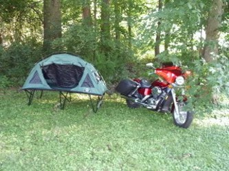 Motorcycle Camp Cot