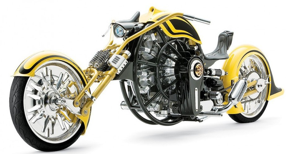 Iron Gatsby Radial Engine Motorcycle