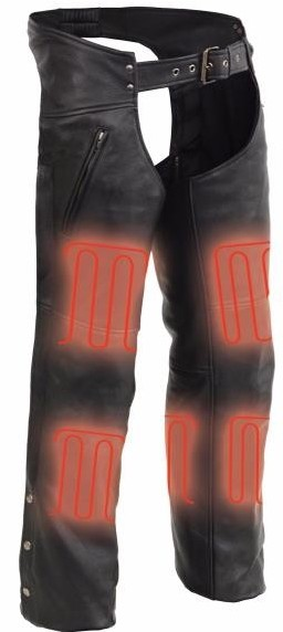 Milwaukee Heated Motorcycle Pants Chaps