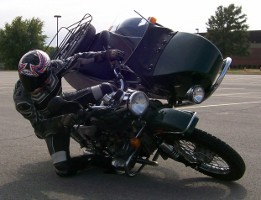 Flying the Chair Sidecar