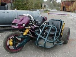Rigid Hack Sidecar Motorcycle Combination
