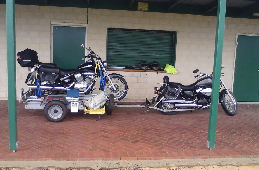 Motorcycle Instructor Erdie Trailer