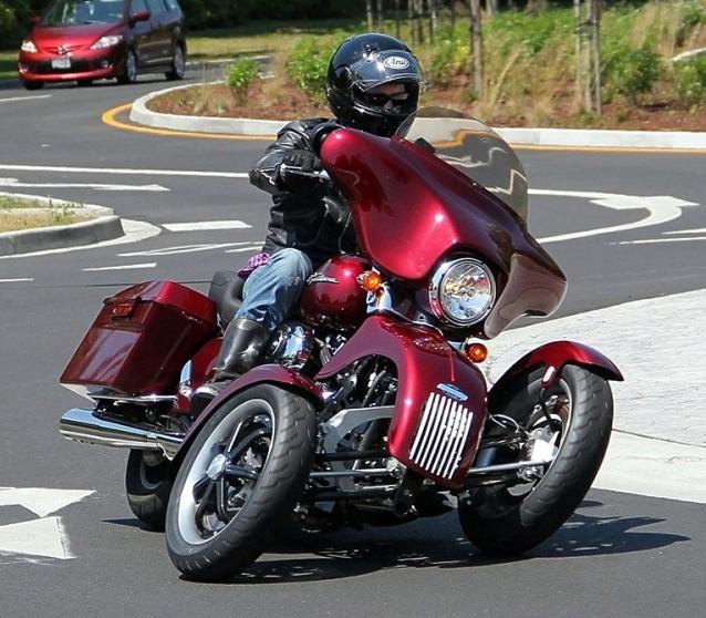 Tilting Motor-Trike