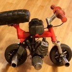 Microbike Tiny Motorcycle