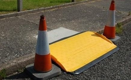 Wheelchair Safe Kerb Ramp