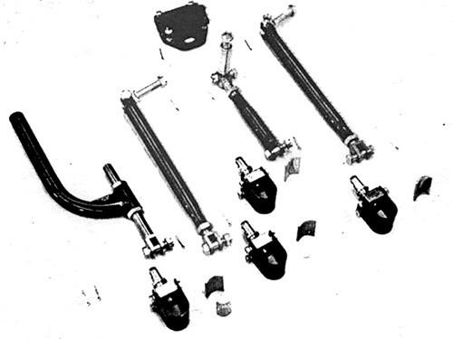 Sidecar Universal Mounting Kit