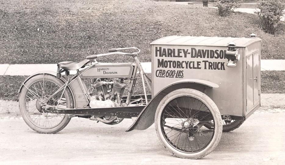 Harley Davidson Reverse Cargo Trike