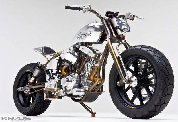 Kraus Achuma Steampunk Motorcyle