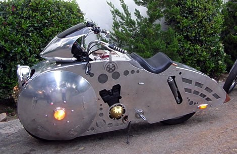 Baron Margo Steampunk Motorcycle