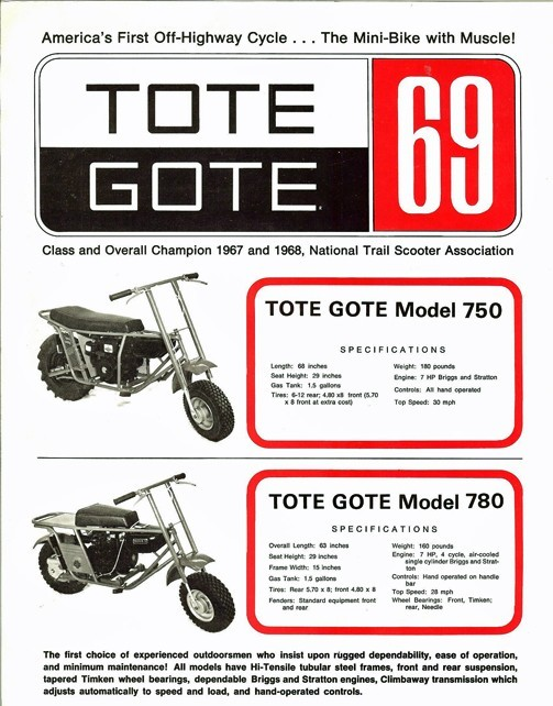 1967 Tote Gote