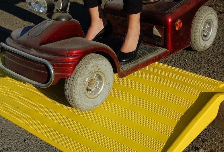 Wheelchair Gopher Kerb Ramp