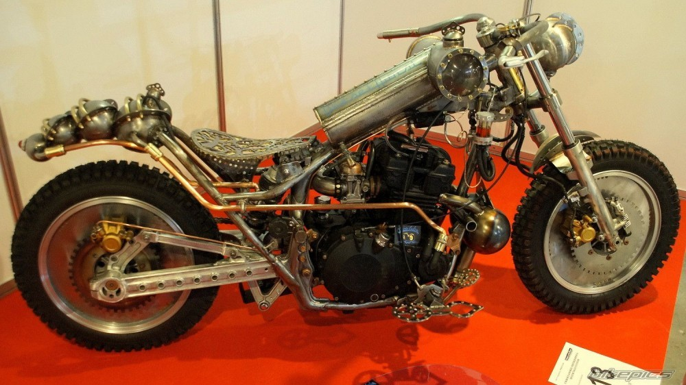 Diesel Steampunk Motorcycle